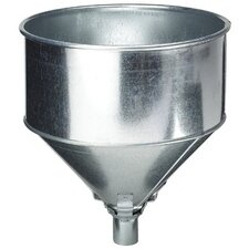 <strong>Plews</strong> Funnels - 8 qt galvanized steel lock-on tractor fun