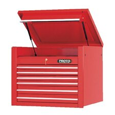 <strong>Proto</strong> 450HS Top Chests - red 6 drawer chest 34x27""