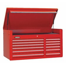 450HS Top Chests - red 12 drawer chest 50x27""