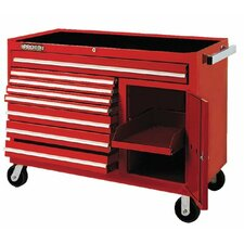 450HS Work Stations - red 8 drawer workstation50x41""