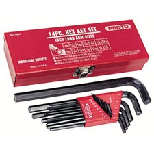 Long Hex Key Sets - set hex key 14pc long