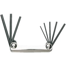 8 Pc. Folding Hex Key Sets - set folding hex 8 pc
