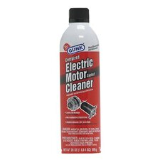 Electric Motor Contact Cleaners - 20oz aerosol electric motor contact & b