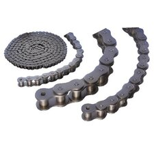 "Roller Chains - 80fr-2 1"" pitch double strand cottered ro"