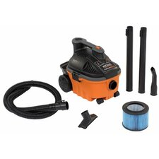 4 Gallon 5.0 HP Ridgid - Wet/Dry Vacuum