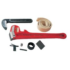 Pipe Wrench Replacement Parts - e2671 6 cl & flt sprg
