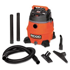 14 Gallon 6 HP Pro Wet/Dry Vacuum