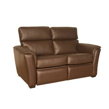 Bradford Leather Reclining Loveseat