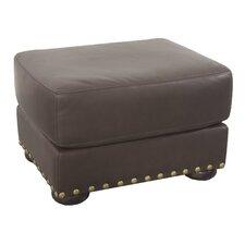 Hampton Leather Ottoman
