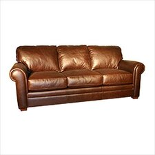 Hamilton Leather Sleeper Sofa