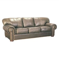 Classique Leather Sleeper Sofa Living Room Collection