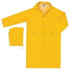"Classic Rain Coats Classic  .35Mm  Pvc/Polyester  49"" Coat  Yellow: 611-200Cx6 - classic  .35mm  pvc/polyester  49"" coat  yellow"