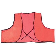 Safety Vests - .10mm pvc safety vest 18x 27 fluor