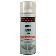 Rust-Oleum - Industrial Choice 1600 System Enamel Aerosols 830 Crystal Clear Ind.Choice Paint 12 Oz.Fill Wt: 647-1610830 - 830 crystal clear ind.choice paint 12 oz.fill wt
