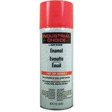 Rust-Oleum - Industrial Choice 1600 System Enamel Aerosols 830 Fluorescent Pink Paint 12Oz. Fill Wt.: 647-1659830 - 830 fluorescent pink paint 12oz. fill wt.