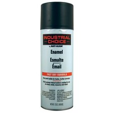 Rust-Oleum - Industrial Choice 1600 System Enamel Aerosols 830 Ultra-Flat Black Ind. Choice Paint 12Oz F.Wt: 647-1676830 - 830 ultra-flat black ind. choice paint 12oz f.wt