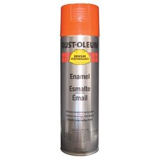 Rust-Oleum - High Performance V2100 System Enamel Aerosols 838 Equipment Orange Finsih: 647-V2156838 - 838 equipment orange finsih