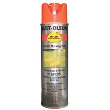 High Performance V2300 838 15-Oz  System Red-Orange Fluorescent Inverted Marking Paint