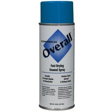 Rust-Oleum - Overall Economical Fast Drying Enamal Aerosols 830 10-Oz Gloss Blue Overall Industrial: 647-V2408830 - 830 10-oz gloss blue overall industrial