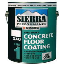 Sierra Performance™ S40 Concrete Epoxy Floor Coatings - voc satin clear s40 concrete epoxy floor coat