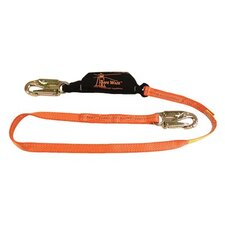 Safestop™ Shock Absorbing Lanyards - 6' safe stop shock absorbing lanyard w/2 locking