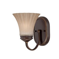 <strong>Quoizel</strong> Aliza 1 Light Bath Vanity Light
