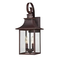 Chancellor 2 Light Outdoor Wall Lantern