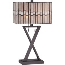 """Mica 24.5"""" H Table Lamp with Rectangular Shade"""