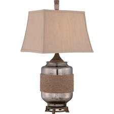 """Rigging 32.5"""" H Table Lamp with Rectangular Shade"""