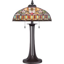 "Tiffany 25.5"" H Chantel Table Lamp"