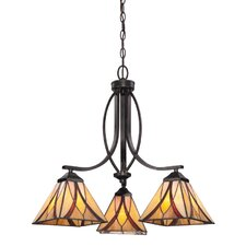 <strong>Quoizel</strong> Asheville 3 Light Chandelier
