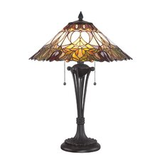 <strong>Quoizel</strong> Tiffany Table Lamp