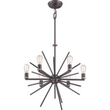 Uptown Carnegie 6 Light Chandelier