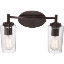 Edison 2 Light Bath Vanity Light