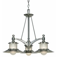 <strong>Quoizel</strong> New England 3 Light Chandelier