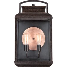 Byron 2 Light Outdoor Wall Lantern