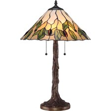 """Campton 24.5"""" H Table Lamp with Empire Shade"""