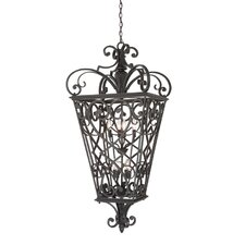 French Quarter 8 Light Outdoor Hanging Lantern