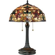 "Kami 23"" H Table Lamp with Bowl Shade"