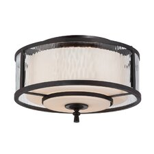 Adonis 2 Light Flush Mount