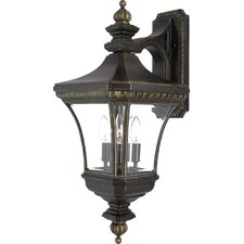 <strong>Quoizel</strong> Devon 3 Light Outdoor  Wall Lantern