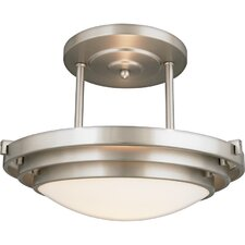 "9"" Semi Flush Mount"