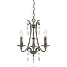 Kendra 3 Light Mini Chandelier