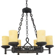 <strong>Quoizel</strong> La Parra 6 Light Chandelier