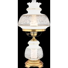 "Satin Lace 28"" H Table Lamp"
