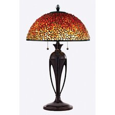 "Pomez 29.5"" H Table Lamp with Bowl Shade"