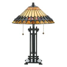 "Tiffany Chastain 22.5"" H Table Lamp with Empire Shade"