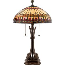 <strong>Quoizel</strong> West End Tiffany Table Lamp