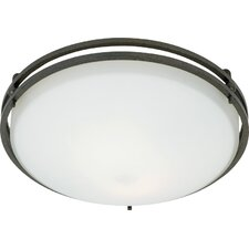 <strong>Quoizel</strong> Ozark 2 Light Flush Mount