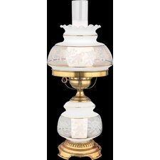 "Satin Lace 20"" H Table Lamp"